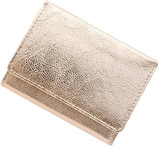 極小財布 ゴートスキン『メタリック』ベーシック型小銭入れ BECKER(ベッカー)日本製 ミニ財布/三つ折り