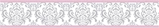 Best pink and gray wallpaper border Reviews