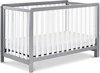 Carter's by DaVinci Colby 4-in-1 Low-Profile Convertible Crib in Grey and White | Greenguard Gold Certified