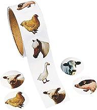 Fun Express Farm Animal Stickers Roll - 100 Stickers