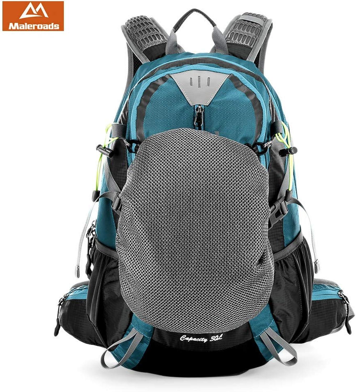 ATLD Wander Rucksack 30L Nylon Wasserdicht Outdoor Wandern Camping Rucksack Sport Reisegepck Fahrrad Rucksack Tasche