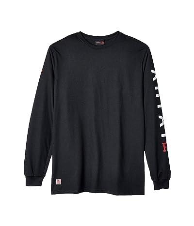 Ariat FR Roughneck Skull Logo T-Shirt (Black) Men
