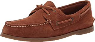 Men's A/O 2-Eye Suede Boat Shoe