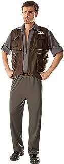 Rubie's Costume Co Men's Jurassic World Deluxe Owen Costume