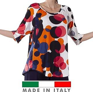 fccab88b5d Amazon.it: taglie comode donna - T-shirt, top e bluse / Donna ...