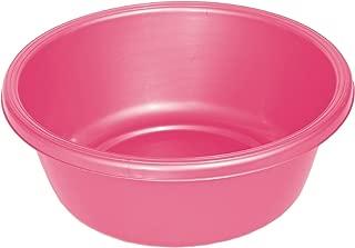 YBM HOME Round Plastic Wash Basin 1148 (1, Pink)