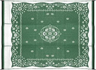 Camco Green Oriental 42850 Awning Leisure Mat 9' x 12'