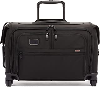TUMI - Alpha 3 Garment 4 Wheeled Carry-On Luggage - 22 Inch Dress or Suit Bag for Men and Women - Black