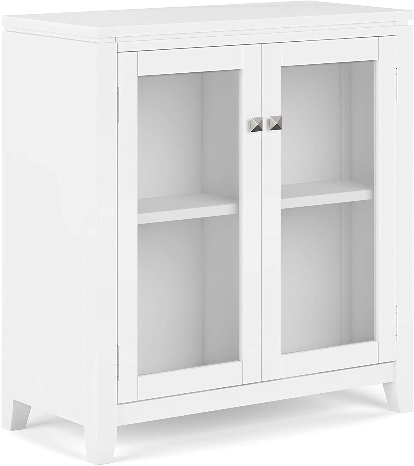 SIMPLIHOME Cosmopolitan SOLID Portland Mall Direct stock discount WOOD 30 Contemporary Wide Low inch