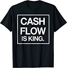 Cashflow is King Quote T-Shirt