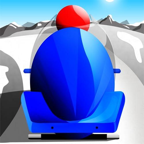Bob-Winter schnell Rennen: die unendliche sport Eiskanal - Gratis-Edition