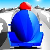 bobsleigh rápida carrera de invierno: el deporte pista de hielo velocidad infinita - edición gratuita