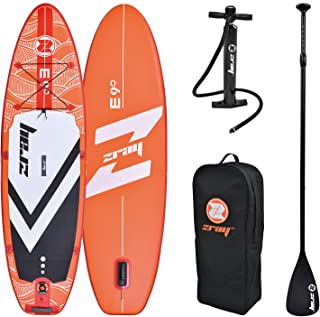 Outraveler Inflatable Stand Up Paddle Board, Youth & Adult Standing Boat, Wide Stance, Surf Control, Non-Slip Deck, Include Paddle, air Pump and Backpack Carry Bag