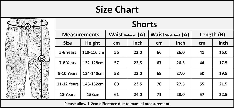 A2Z 4 Kids Kids Boys Girls Green Camouflage Chino Shorts Knee Length Half Pant 5-13 Yr