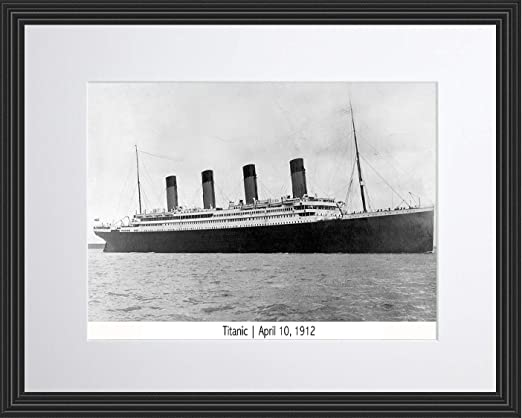 RMS Titanic Iconic Ship Maritime Disaster Painting Wall Art Canvas Pictures