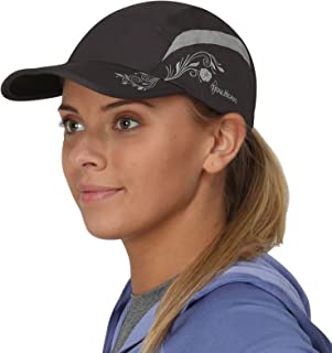 TrailHeads Folding Bill Running Hat for Women | Summer Cap with UV Protection