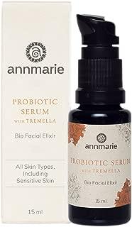 Annmarie Skin Care Probiotic Serum - Bio-Facial with Tremella Mushroom Extract, Probiotic Ferment + Astaxanthin (15ml / 0.5 fl oz)