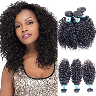 JERRY CURL 7A Virgin REMY Hair ALL Texture Available Brazilian 3 Bundle Pack Add 4th Bundle or Closure 30% OFF Natural Black Color 16