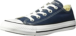 Converse Unisex Chuck Taylor Ox Low Top Shoes (4 D(M), Navy)