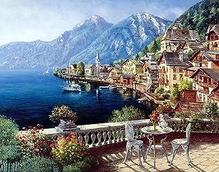 European Town Jigsaw Puzzle 1000 Pieces