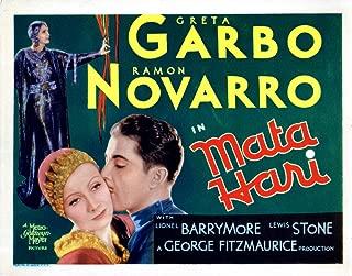 Posterazzi MATA Hari from Left Greta Garbo Ramon Novarro 1931 Movie Masterprint Poster Print (14 x 11)