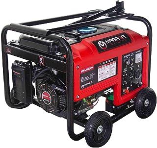 MARAGA-Generador Eléctrico de Gasolina de 3000 Watts, 120V, con capacidad de hasta 15 Litros y 11 horas de operación conti...