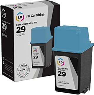 LD Remanufactured Ink Cartridge Replacement for HP 29 51629A (Black)
