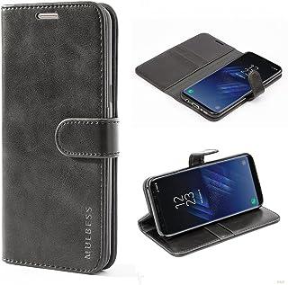 Mulbess Cover per Samsung Galaxy S8 Plus, Custodia Pelle con Magnetica per Samsung Galaxy S8 Plus / S8+ Case, Nero