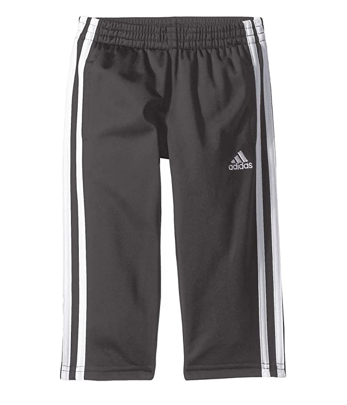 adidas Kids  Iconic Tricot Pants (Big Kids) (Grey Five) Boys Casual Pants