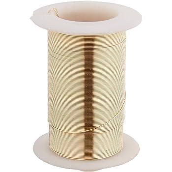4-Yards Beadalon AWD-18-NTB-04YD Artistic Wire 18-Gauge Non-Tarnish Brass Wire