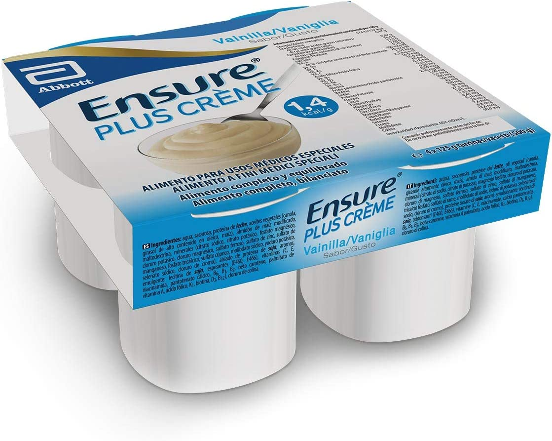 Ensure Plus Crème – Textura pudding, sabor a vainilla - Pack ...
