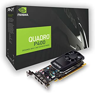 PNY Quadro P400 PCI Express 3.0 x16 LP 2 GB GDDR5 de 64 bit 3 x Mini DP 1.4