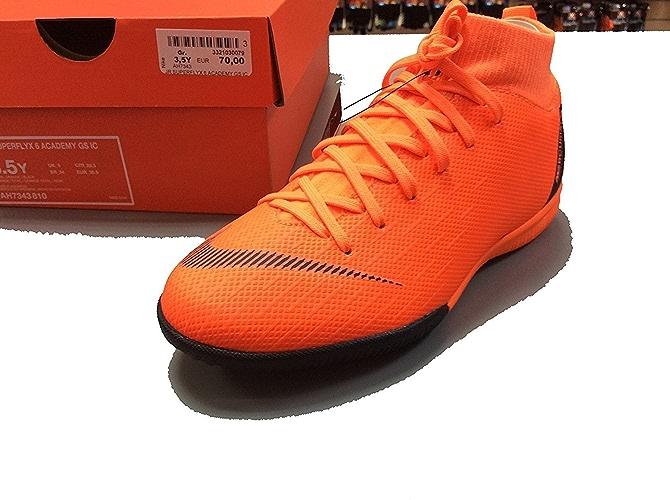 Nike Jr Superflyx 6 Academy GS IC Chaussures de Fitness Mixte Enfant