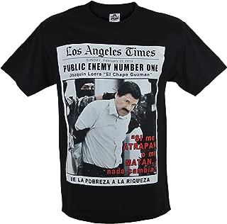 El Chapo Public Enemy Men's T-Shirt