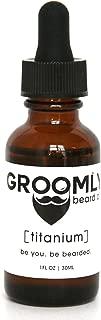 Groomly Care All Natural Beard Oil Titanium