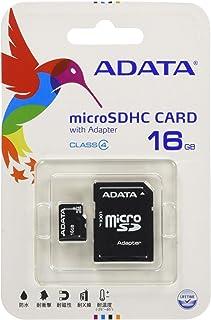 ADATA microSDHCカード 16GB Class4 AUSDH16GCL4-RA1