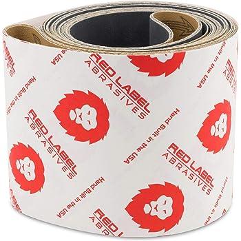Aluminum Oxide Pack of 10 Cloth Backing 6 Width Brown 6 Width 48 Length VSM Abrasives Co. 48 Length 400 Grit Fine Grade VSM 2226 Abrasive Belt