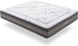 ECCOX - Colchón Muelles Ensacados Foam Grafeno - 140 x 190 Altura 29cm +/ - Todas Las Medidas
