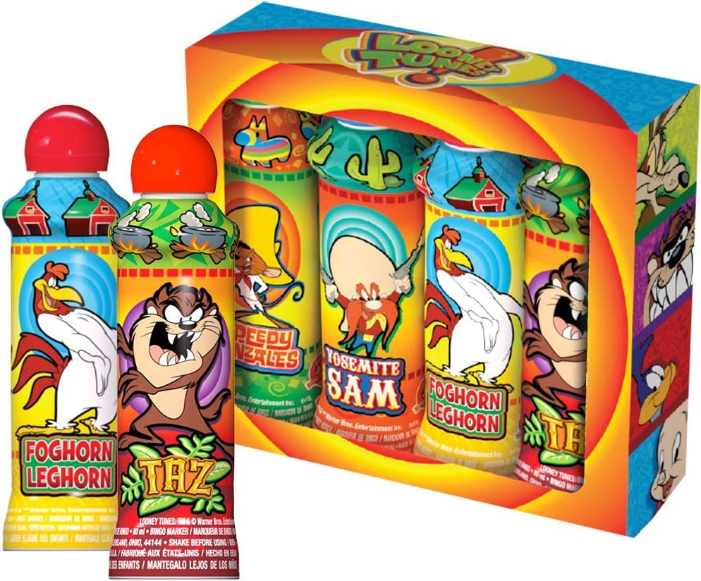 Looney Tunes 3 Ounce Bingo Dauber Gift Pack