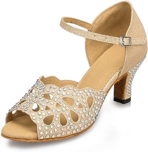 L'Intérieur De Femmes Chaussures De Danse De Diahommets Chaussures De Danse Latine