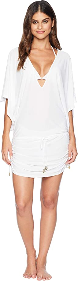 Cosita Buena Cabana V-Neck Dress Cover-Up