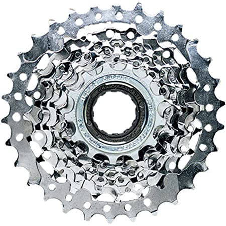 NEW chrome plated Sunlite 8 speed freewheel 13-28T