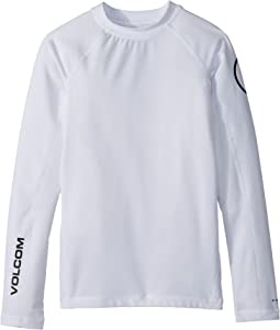 Volcom Kids Lido Solid Long Sleeve Thrashguard (Big Kids)