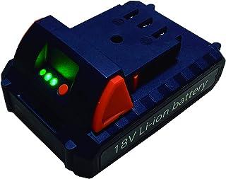 YARD FORCE 電動コードレス機器用 18V2.0Ah リチウムイオン(残量ケージ付) 予備バッテリー (替え バッテリー) ヤードフォース