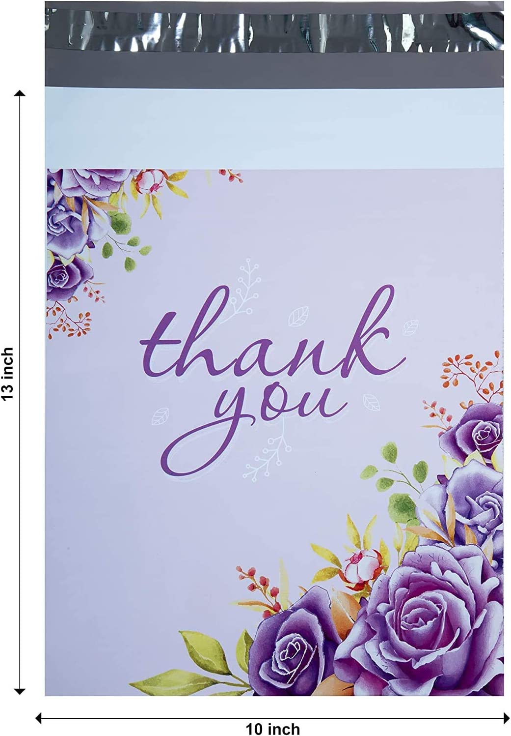 InfinitePack 10x13 Thank You Poly Self Don't miss the campaign Shipping with Cheap mail order shopping Bags Mailer