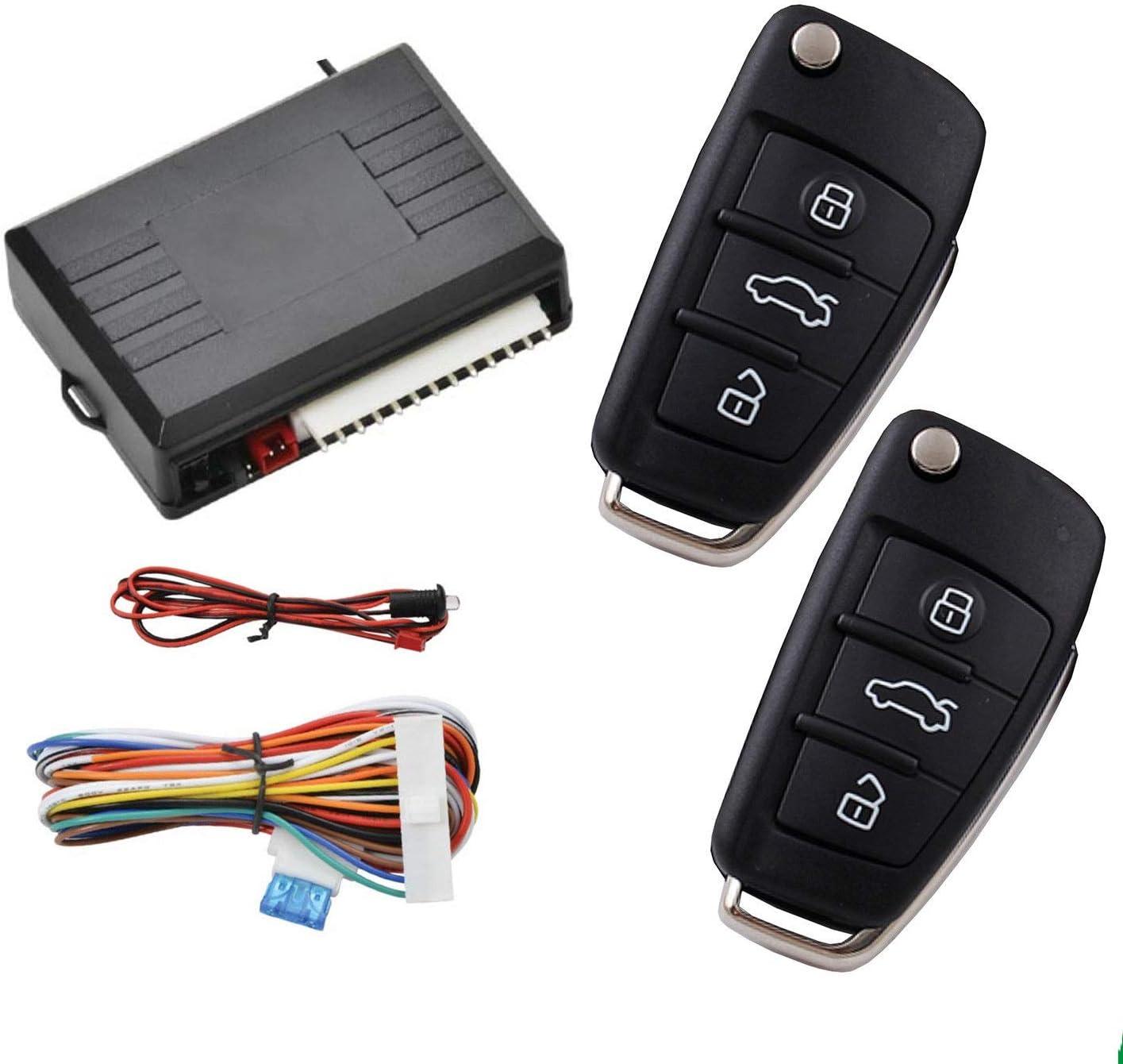 Universal Remote High order Control Central Locking Lock Car MASO Door Los Angeles Mall Kit