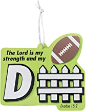 Fun Express Lord is My Strength and Defense Sports Craft Kit (Set of 12) VBS Craft Kits