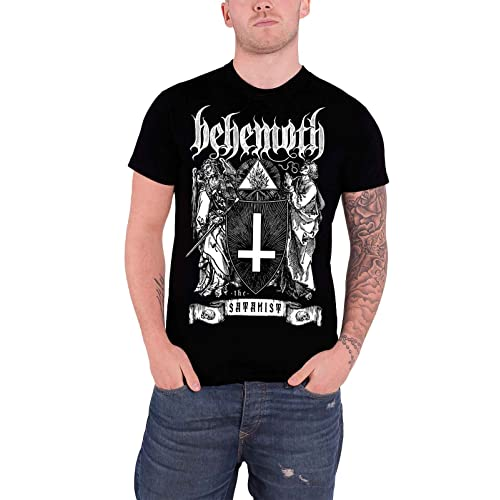 61155adec Behemoth The Satanist Official Mens Black T Shirt