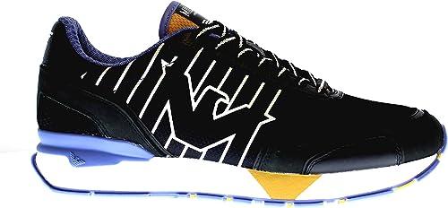 Emporio armani  sneakers uomo con lacci in ecopelle/tessuto X4X289XM232C026