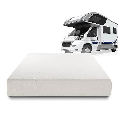 Zinus Deluxe Memory Foam 10 Inch RV / Camper / Trailer / Truck Mattress, Short